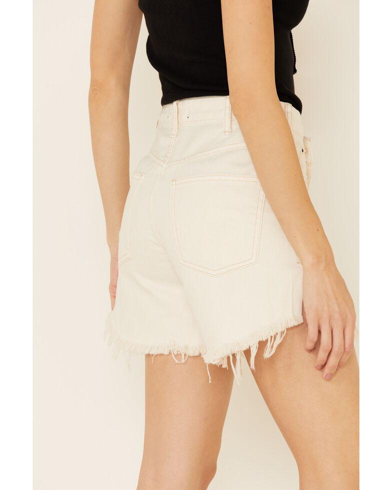 Free People Women's Baggy Tomboy Shorts, White, hi-res
