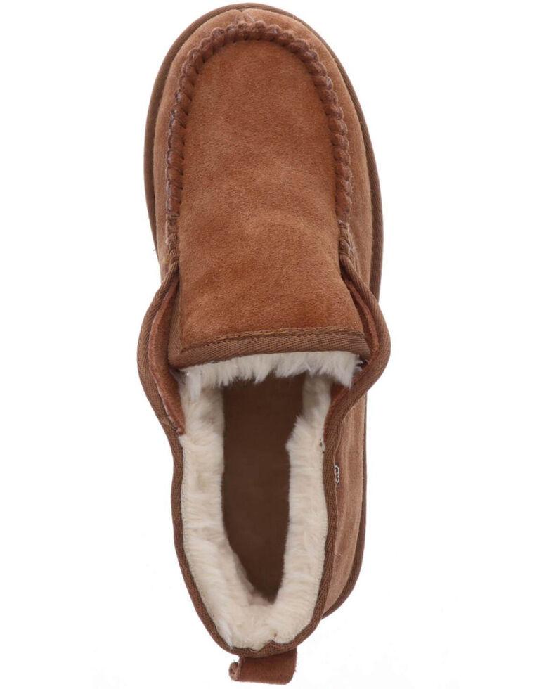 Lamo Footwear Men's Rust Kai Moc Slippers - Moc Toe, Rust Copper, hi-res