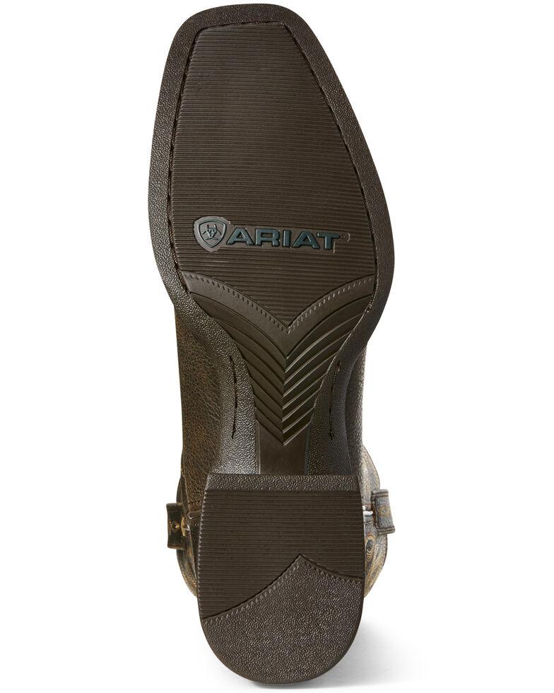Ariat Men's Sport Herdsman Western Boots - Square Toe, Brown, hi-res