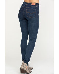 Levi's Women's Dark Wash 721 High Rise Skinny Jeans , Blue, hi-res