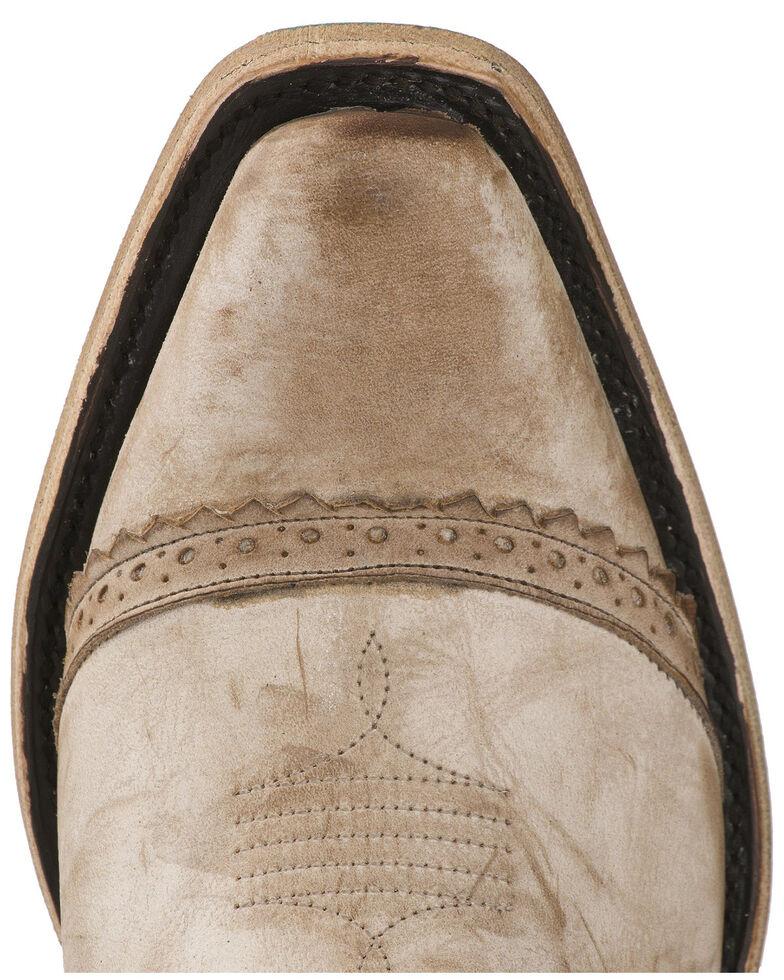 Lane Women's Ballyhoo Fashion Booties - Snip Toe, Off White, hi-res