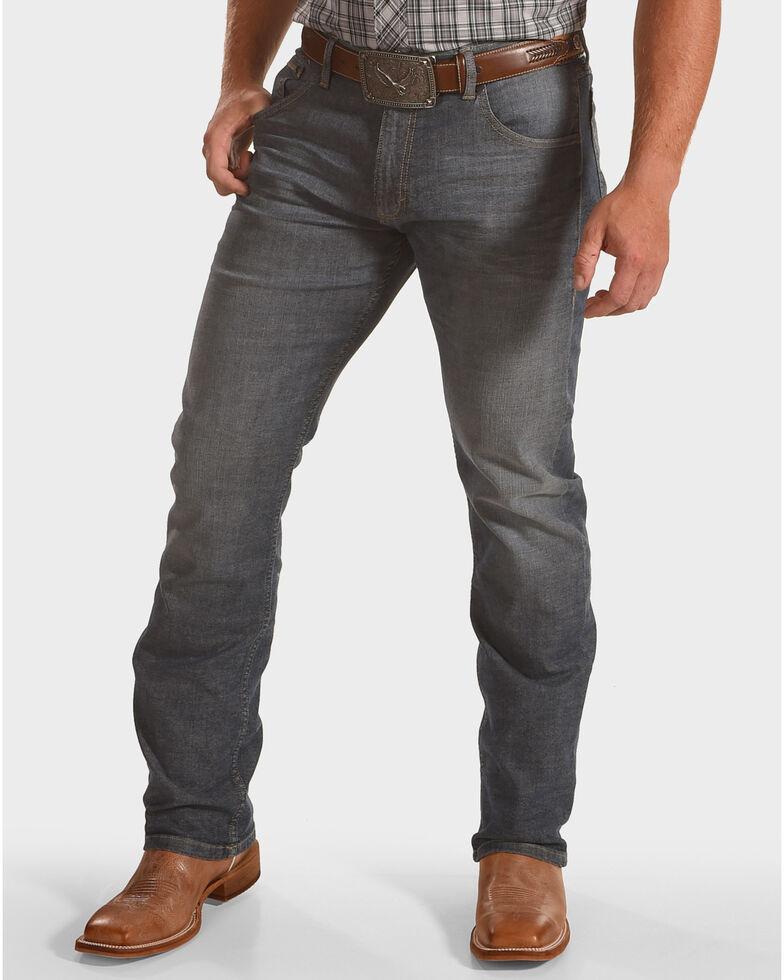 Wrangler Men's Slim Straight Leg Jeans, Blue, hi-res