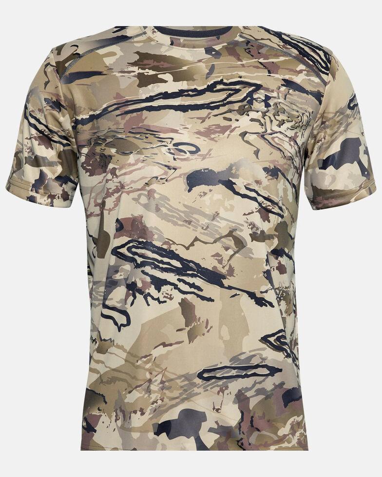 Under Armour Men's Barren Iso-Chill Brushline Short Sleeve Work Shirt , Camouflage, hi-res