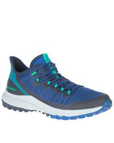Merrell Women's Bravada Hiking Shoes - Soft Toe, Blue, hi-res