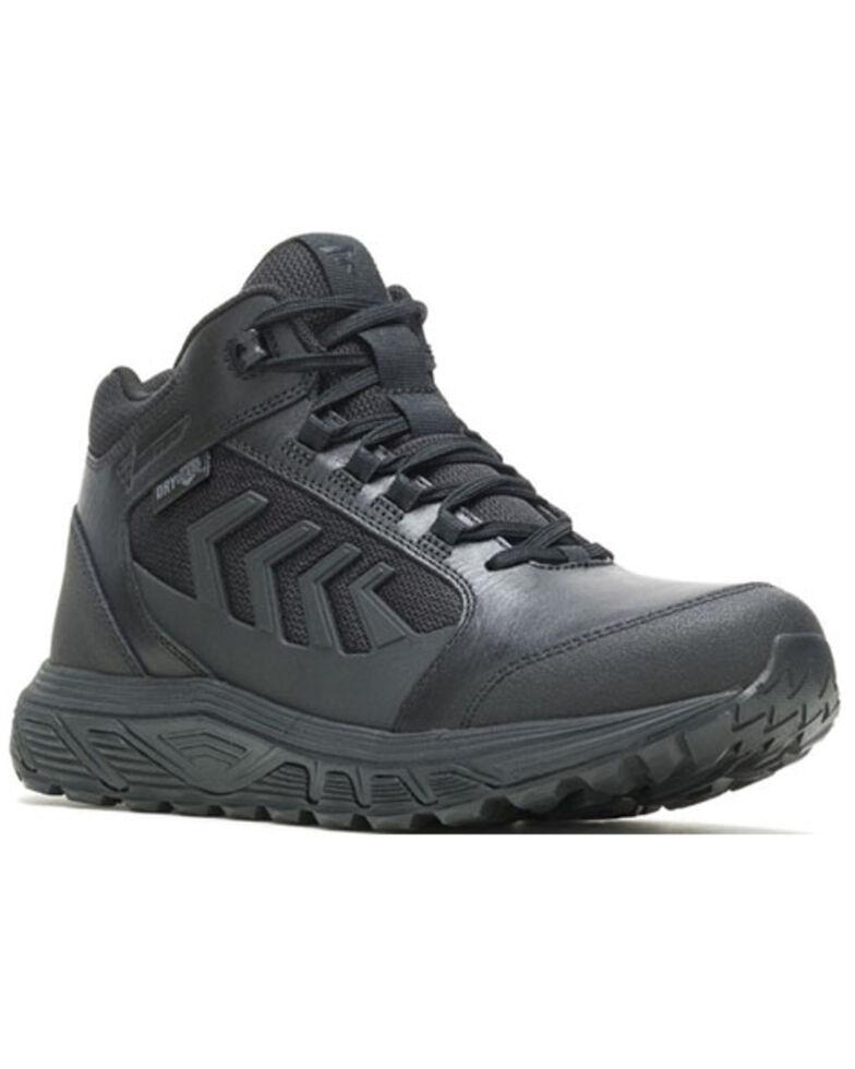 Bates Men's Rush Shield Work Boots - Soft Toe, Black, hi-res