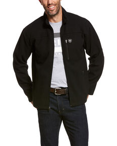 Ariat Men's Duratek Fleece Jacket , Black, hi-res