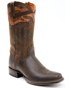 Moonshine Spirit Men's Guitar Western Boots - Square Toe, Tan, hi-res