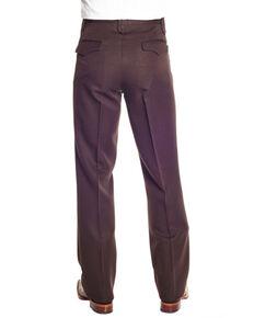 Circle S Men's Brown Polyester Western Dress Ranch Pants - Big , Brown, hi-res