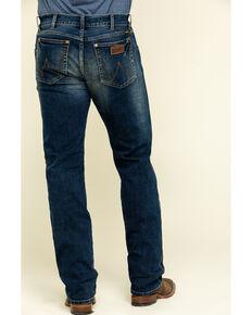 Wrangler Retro Premium Men's Monroe Stretch Slim Bootcut Jeans , Blue, hi-res