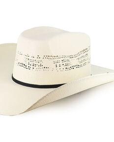 Cody James Boys' Straw Western Hat, Natural, hi-res