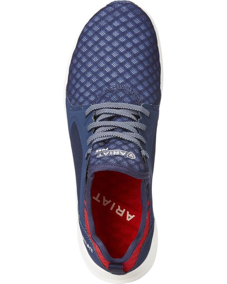 Ariat Women's Navy Fuse Team Shoes , Navy, hi-res