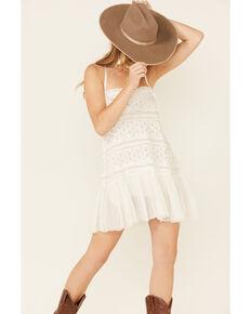 Free People Women's Shailee Slip Dress, White, hi-res
