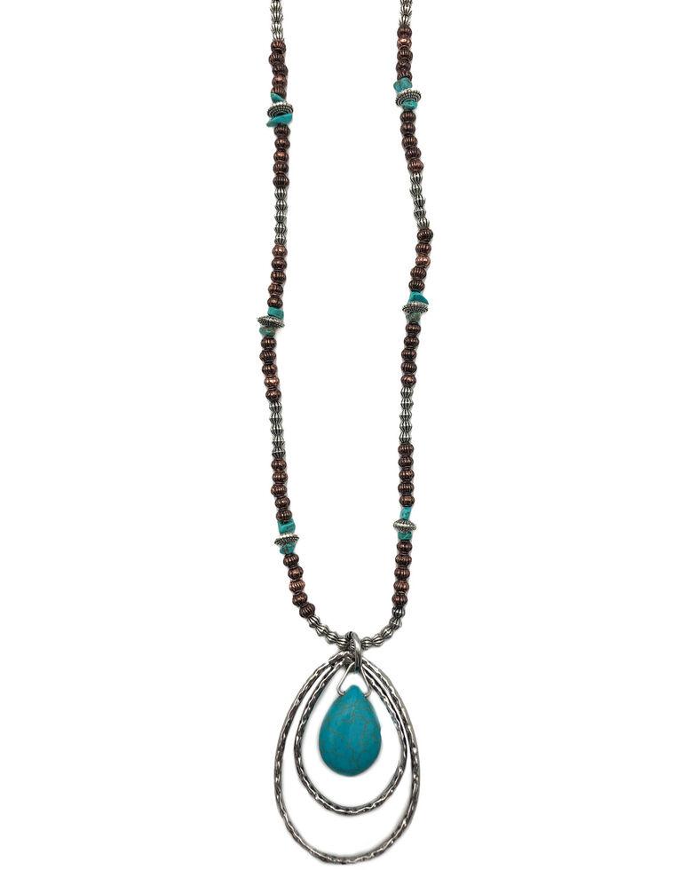 Cowgirl Confetti Women's Runaway Feelin' Necklace, Silver, hi-res