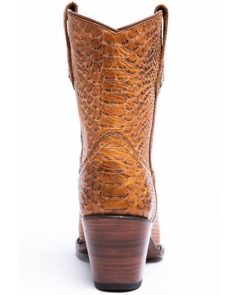 Idyllwind Women's Brazen Western Booties - Snip Toe, Cognac, hi-res