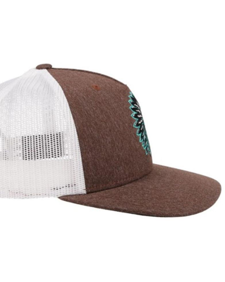 HOOey Men's Quanah Soft Mesh Back Trucker Ball Cap  , , hi-res