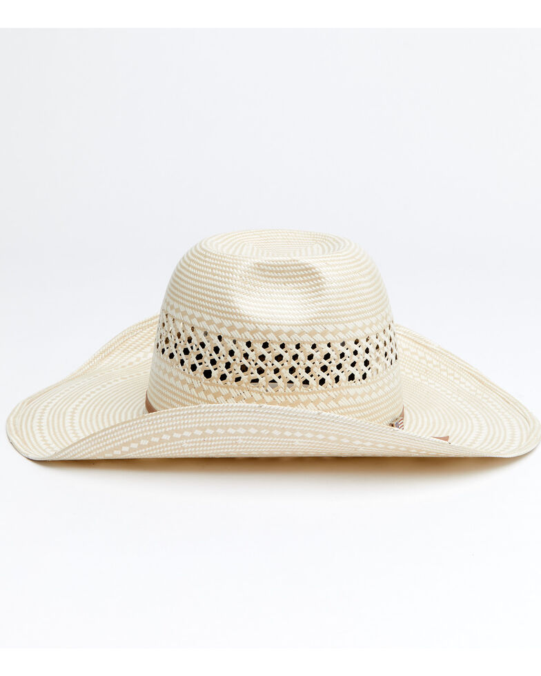 American Hat Co. Men's Rancher Cowboy Hat, Natural, hi-res