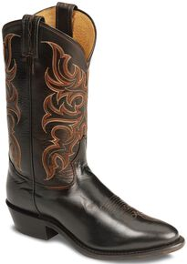 Tony Lama Regal Americana Boots - Medium Toe, Peanut, hi-res