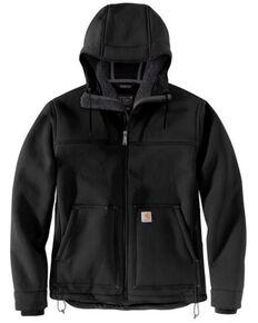 Carhartt Men's Black Super Dux Relaxed Fit Sherpa-Lined Work Active Jacket , Black, hi-res