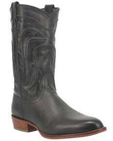Dingo Men's Montana Western Boots - Round Toe, Black, hi-res