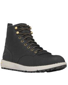 Danner Men's Black Logger Boots - Soft Toe, Black, hi-res