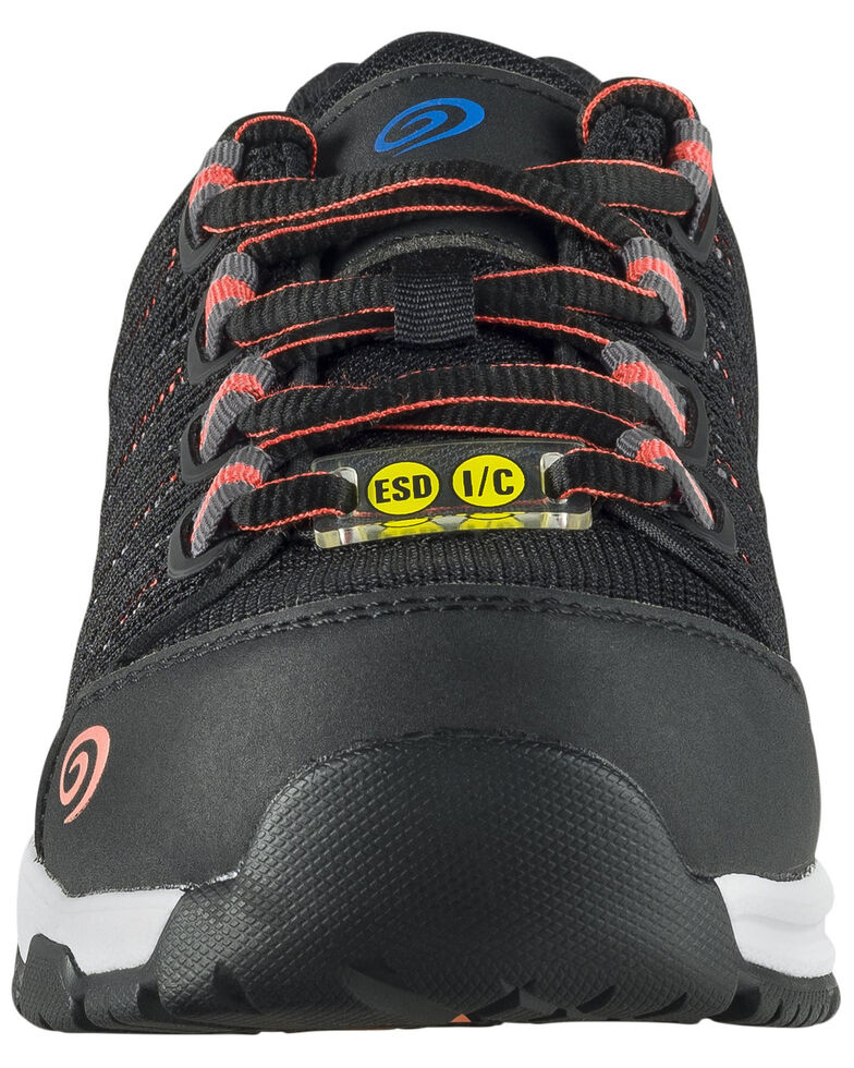 Nautilus Women's Black Accelerator Work Shoes - Composite Toe, Black, hi-res