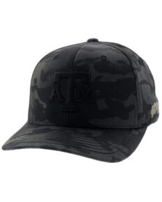 HOOey Men's Camo Texas A&M Logo Flex Fit Cap , Multi, hi-res