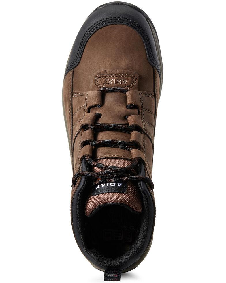Ariat Women's Telluride Waterproof Work Boots - Composite Toe, Brown, hi-res