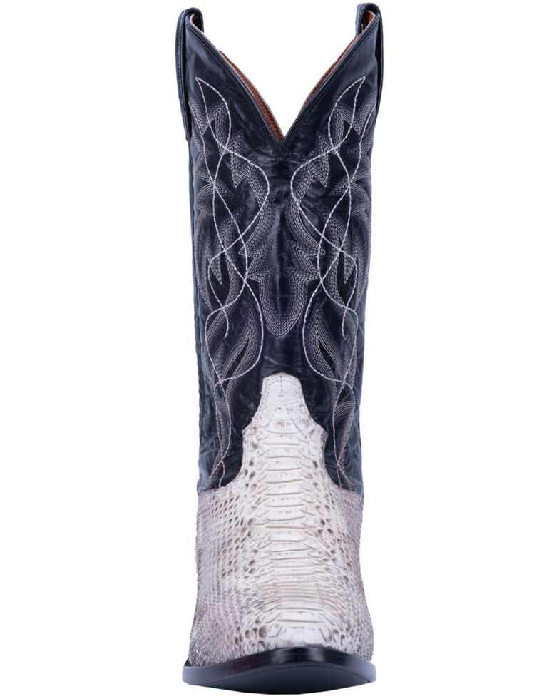 Dan Post Men's Manning Western Boots - Round Toe, Python, hi-res