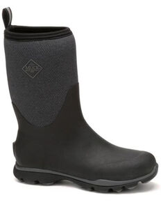 Muck Boots Men's Arctic Excursion Rubber Boots - Round Toe, Grey, hi-res