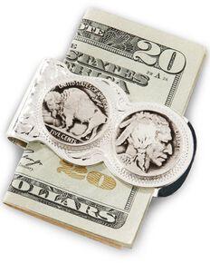Montana Silversmiths Native American Nickel Money Clip, Silver, hi-res
