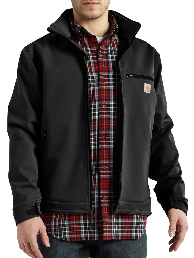 Carhartt Men's Crowley Jacket, Black, hi-res
