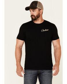Pendleton Men's Black Siskiyou Diamond Aztec Logo Back Graphic Short Sleeve T-Shirt , Black, hi-res