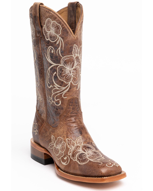 Lasy Western Boots - Square Toe