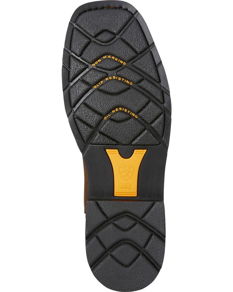 Ariat Men's Brown Sierra Delta Waterproof Western Boots - Square Toe, Brown, hi-res