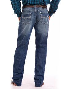 Tuf Cooper Men's Stretch Straight Leg Jeans , Indigo, hi-res