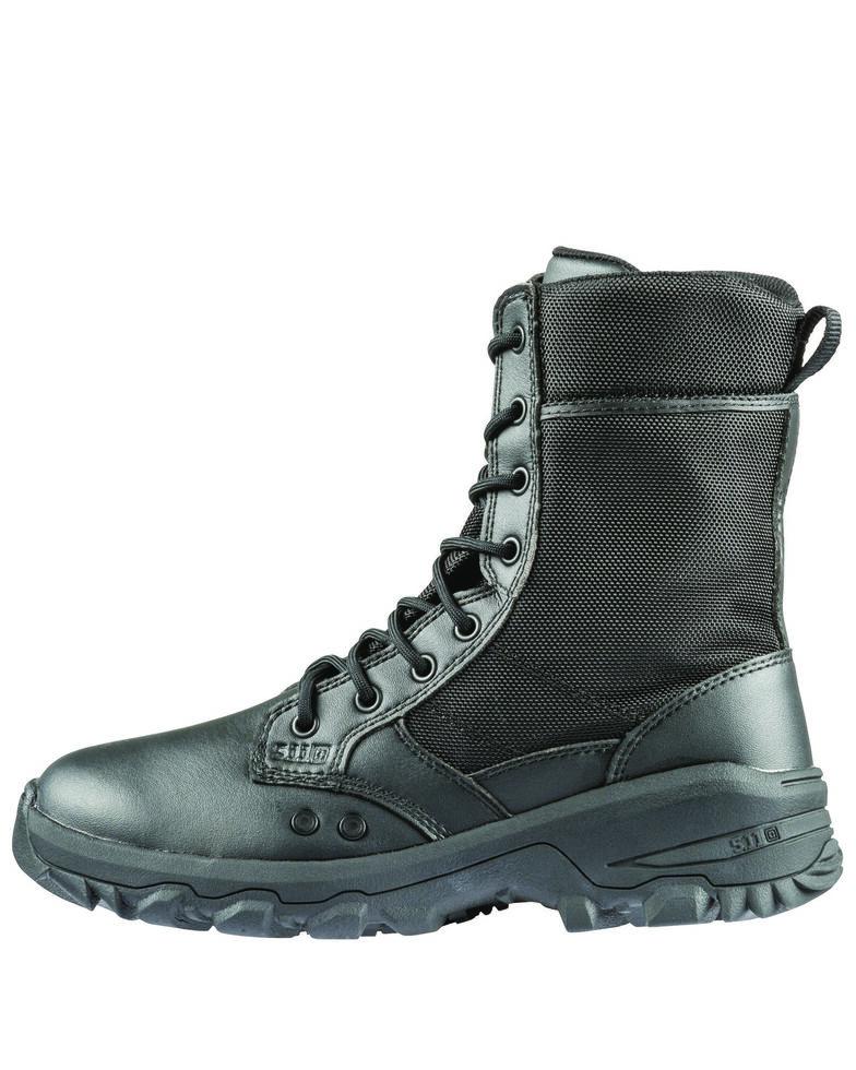 5.11 Tactical Men's Speed 3.0 Rapid Dry Boots - Round Toe, Black, hi-res