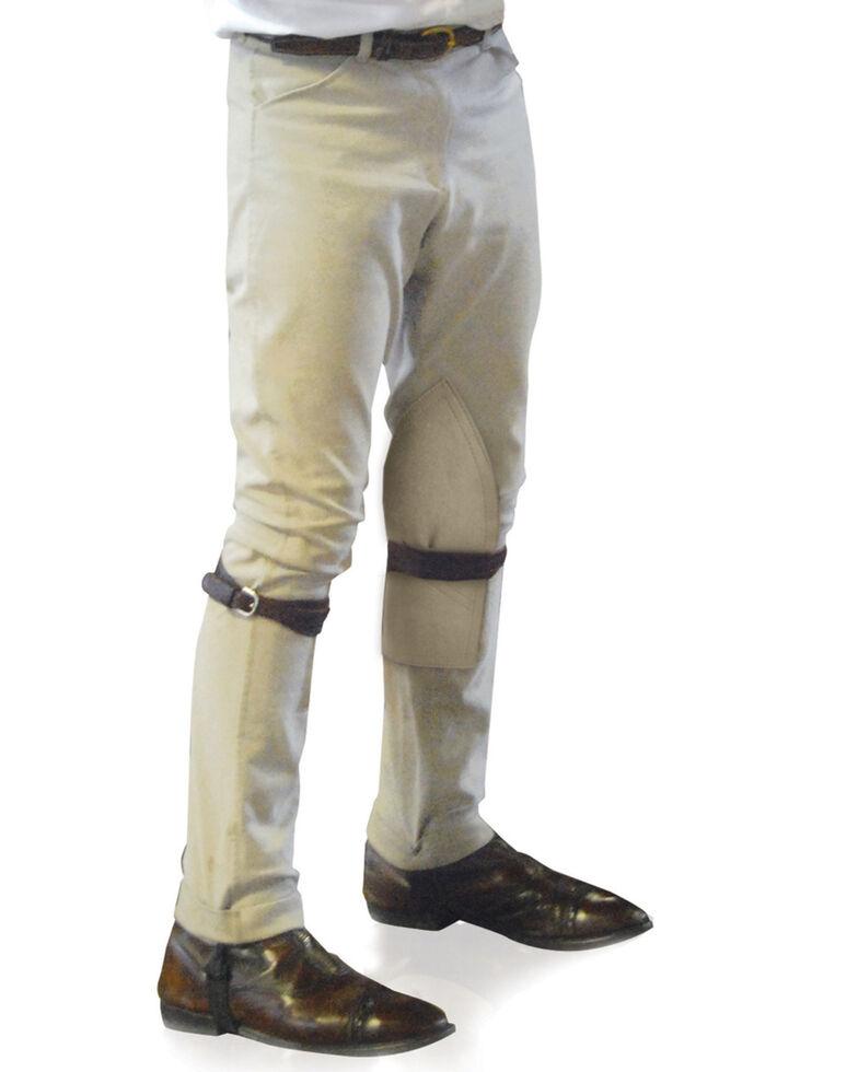 Ovation Boys' Four-Pocket EuroWeave Breeches, Lt Tan, hi-res