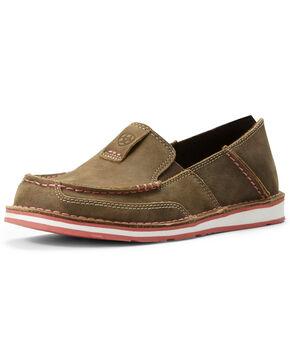 Ariat Women's Bomber Cruiser Shoes - Moc Toe, Brown, hi-res