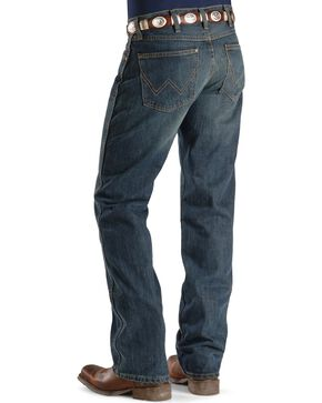 Wrangler Retro Slim Fit Boot Cut Jeans , Med Wash, hi-res
