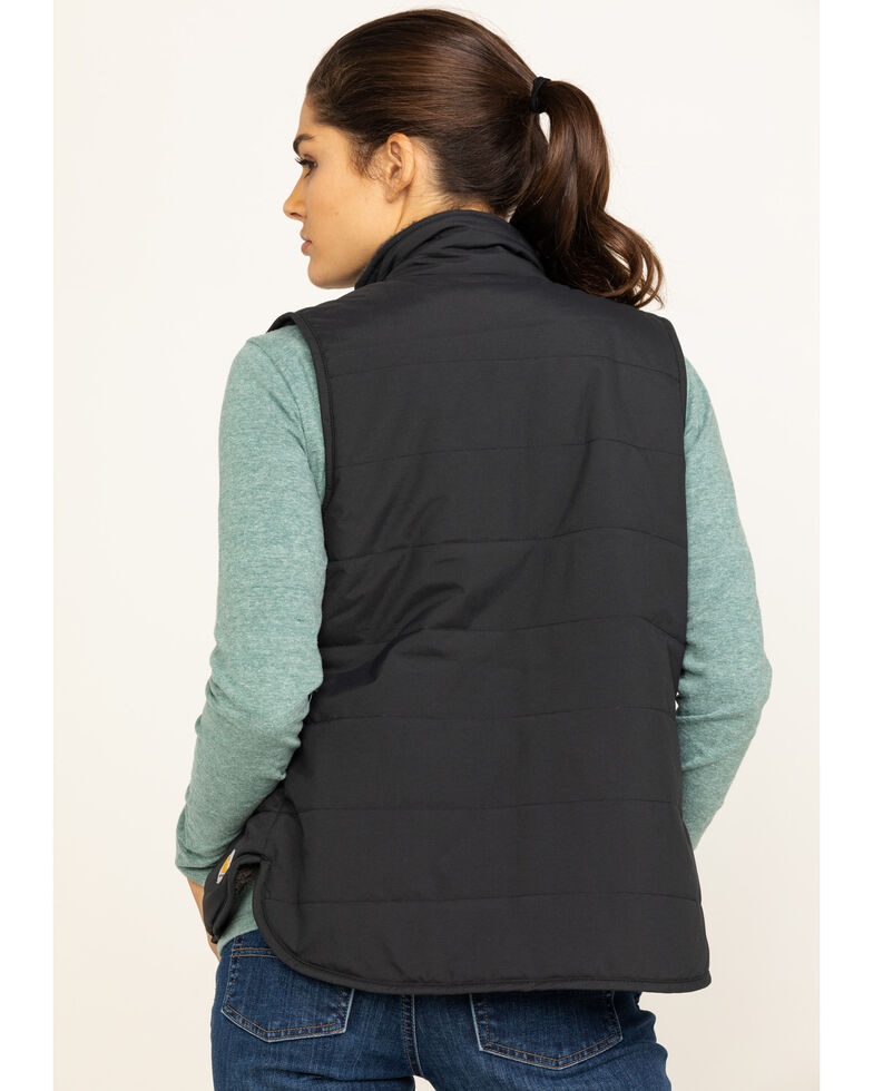 Carhartt Women's Utility Sherpa Lined Vest , Black, hi-res