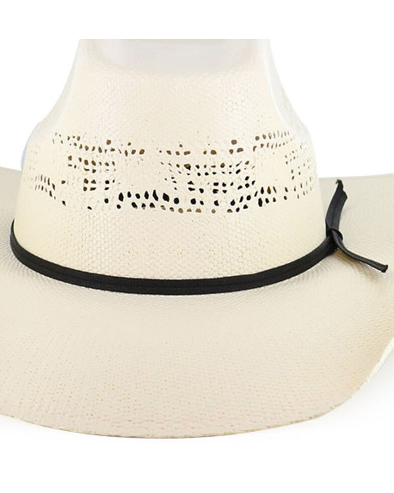 Cody James Boys' Straw Western Hat, Natural, hi-res