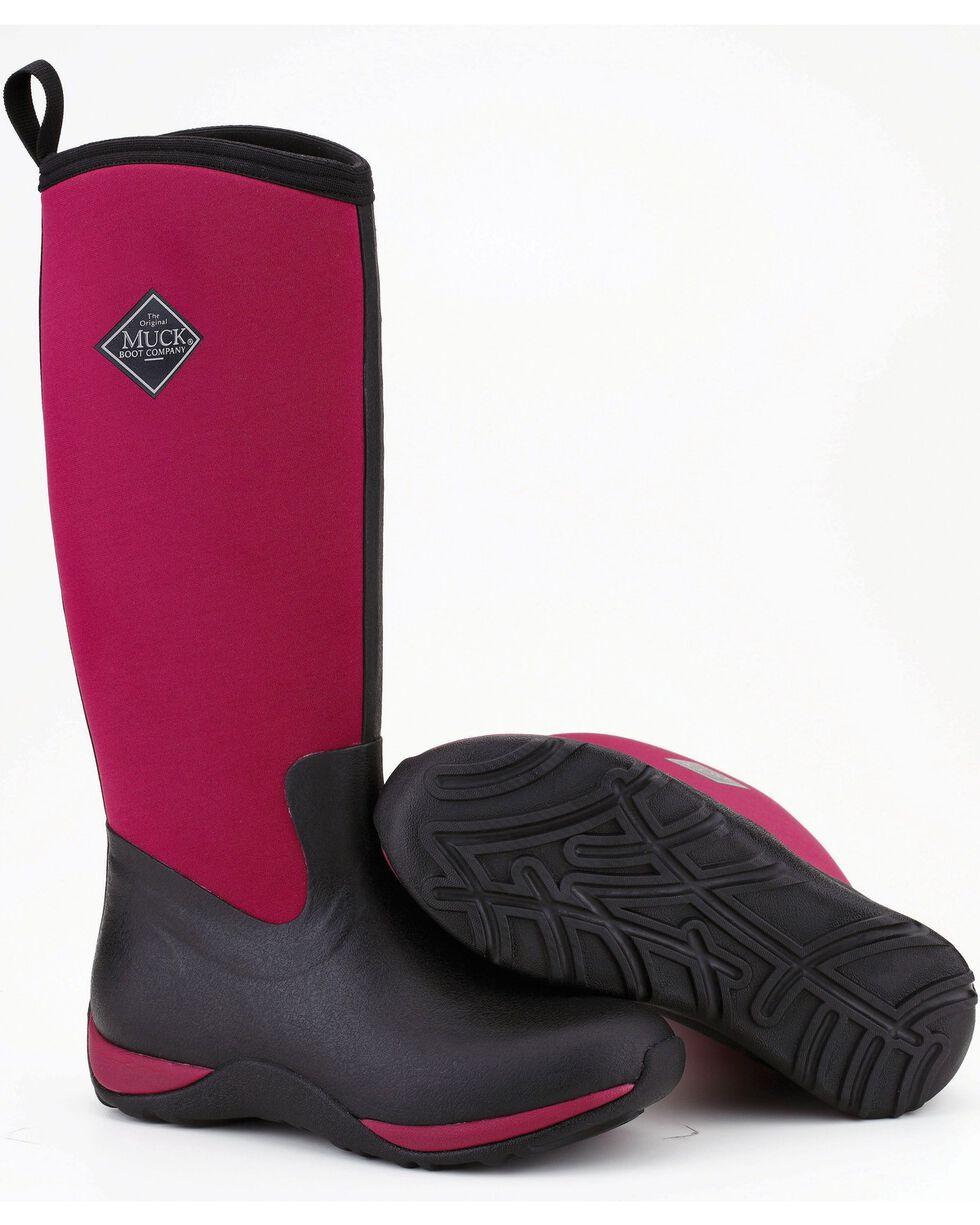 Muck Boots Women's Maroon Arctic Adventure Boots - Round Toe, Maroon, hi-res