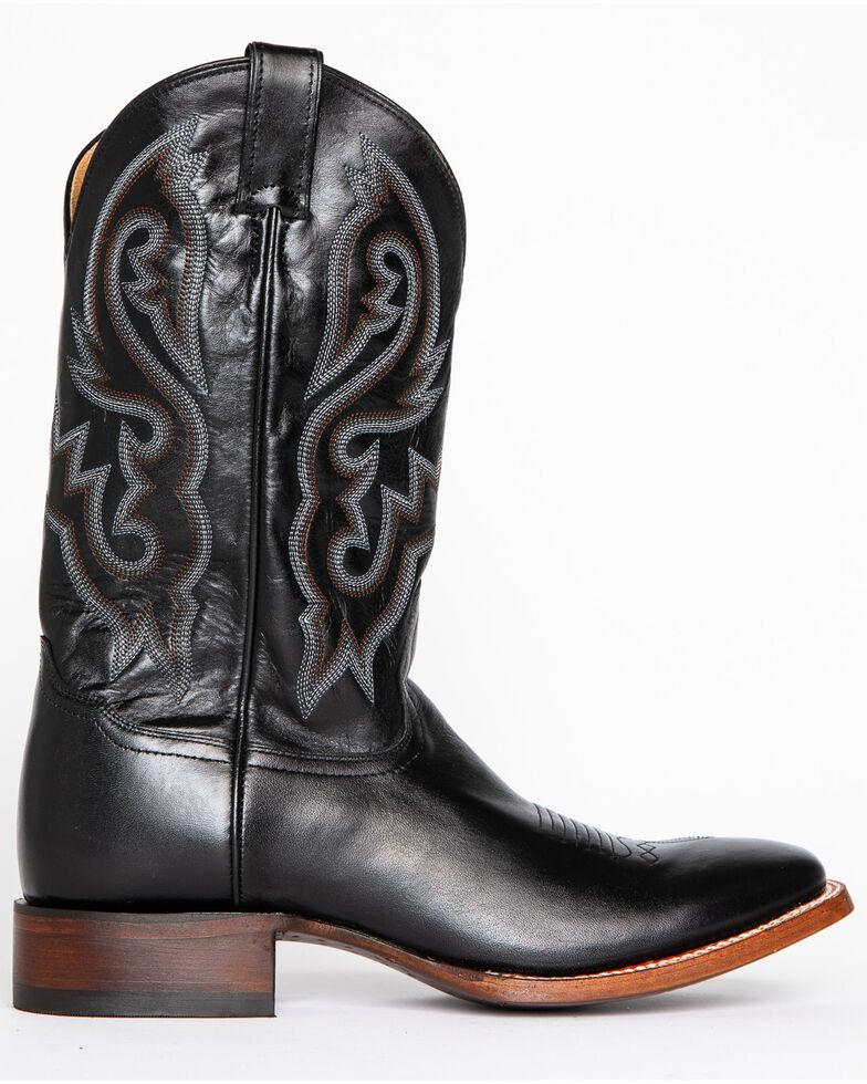 Cody James Men's Black Stockman Cowboy Boots - Square Toe, Black, hi-res