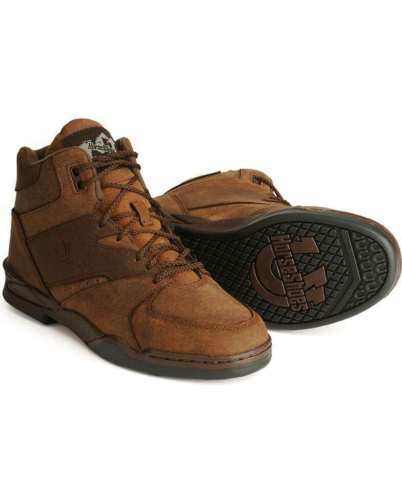 Roper Men's Chipmunk HorseShoes Classic Original Boots, Tan, hi-res