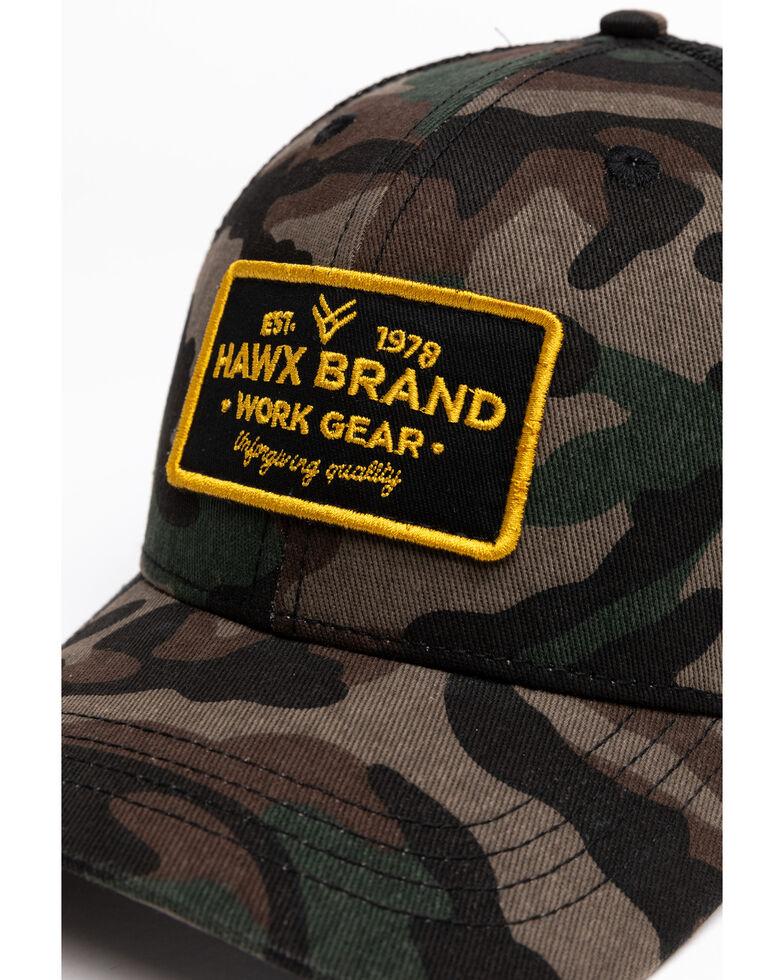 Hawx Men's Camo Patch Ball Cap , Camouflage, hi-res