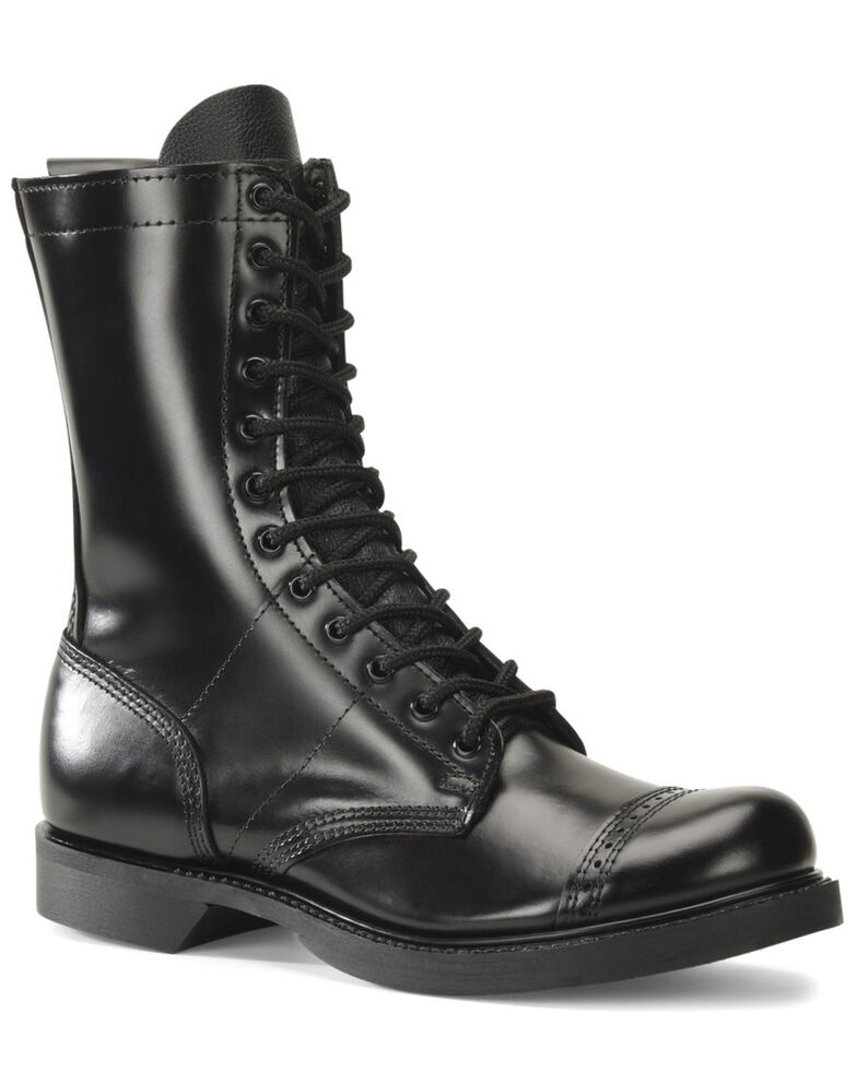 Corcoran Men's Historic Black Jump Boots - Round Toe, Black, hi-res