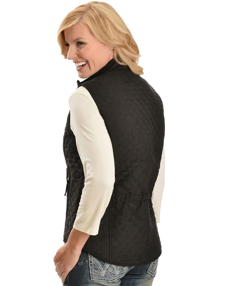 Outback Trading Co. Grand Prix Vest, Black, hi-res
