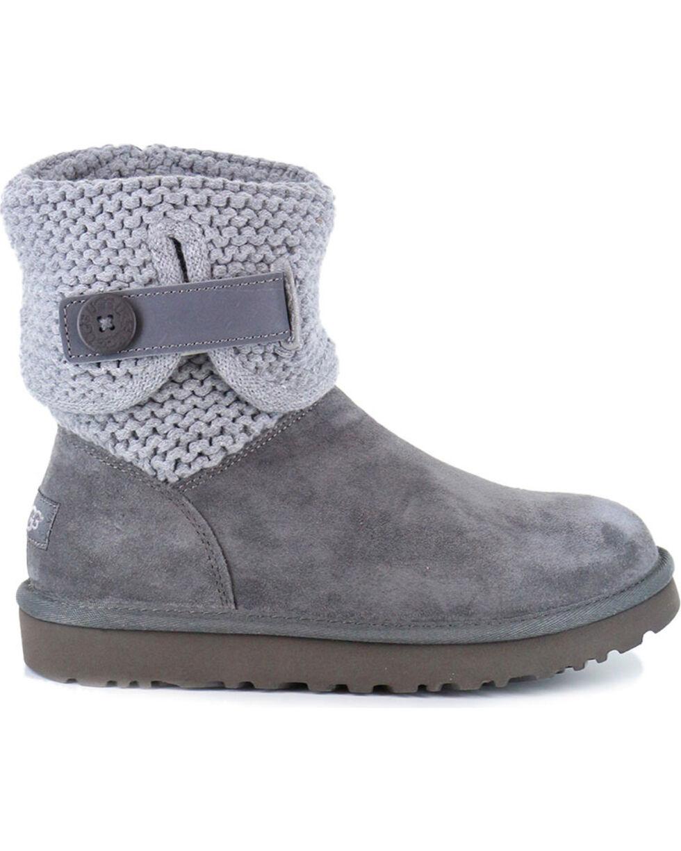 UGG® Women's Shaina Boots - Round Toe, Grey, hi-res