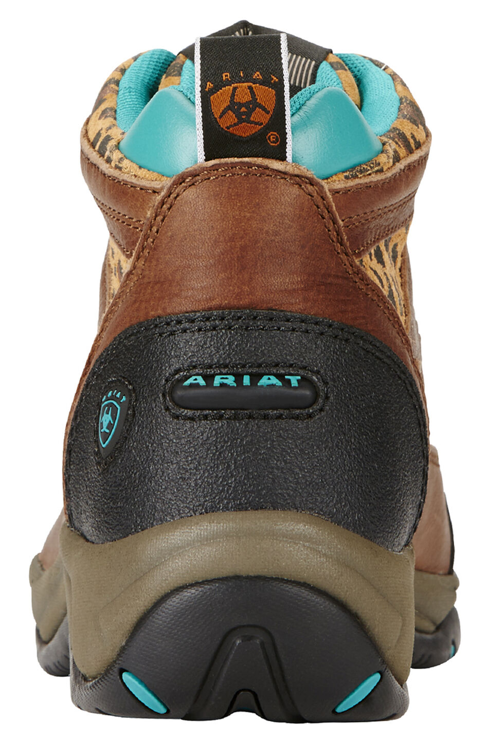Ariat Women's Tundra Cheetah Terrain Boots - Round Toe, Brown, hi-res