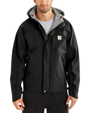 Carhartt Men's Shoreline Vapor Waterproof Jacket, Black, hi-res